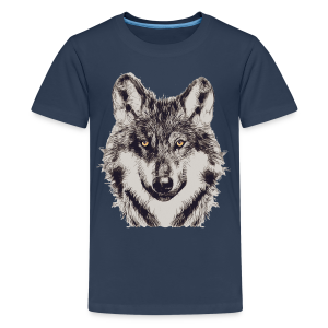 WOLF OR SHEPHERD (Teen) - Teenager Premium T-Shirt