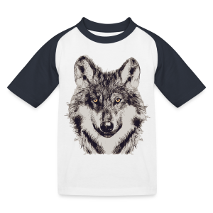 WOLF OR SHEPHERD (Kids) - Kinder Baseball T-Shirt