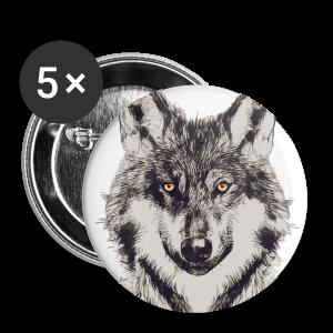 WOLF OR SHEPHERD - Buttons klein 25 mm
