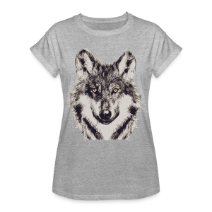 WOLF OR SHEPHERD - Frauen Oversize T-Shirt