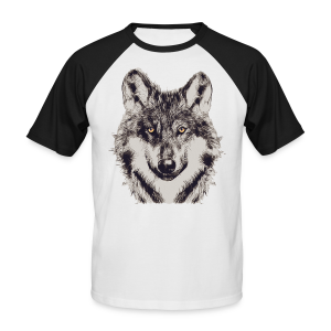 WOLF OR SHEPHERD - Männer Baseball-T-Shirt