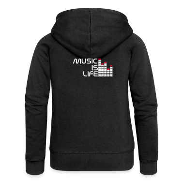 Black music is life equalizer r EN Coats & Jackets