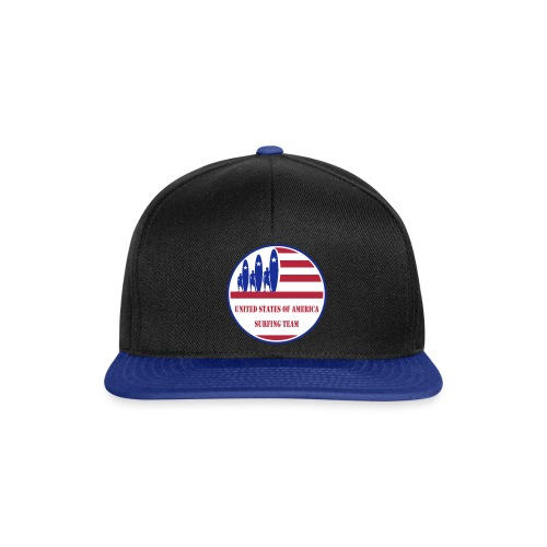 USA Surfing Team - Snapback Cap