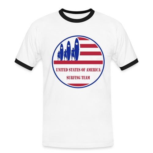 USA Surfing Team - Men's Ringer Shirt