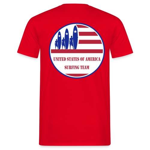 USA Surfing Team - Men's T-Shirt