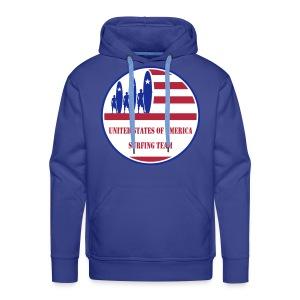 USA Surfing Team - Men's Premium Hoodie