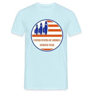 USA Surfing Team - Men's T-Shirt
