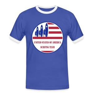 USA Surfing Team - Men's Ringer Shirt