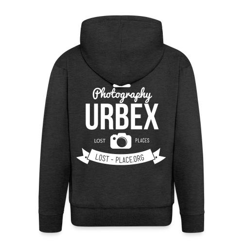 Urbex Photography Jacke - Männer Premium Kapuzenjacke