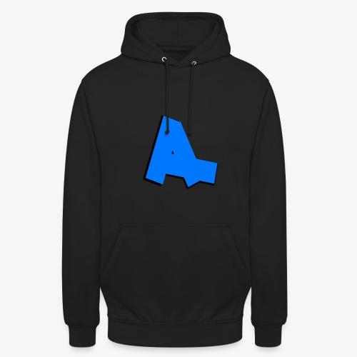 Asii | Unisex Hoodie /w blue print - Unisex Hoodie