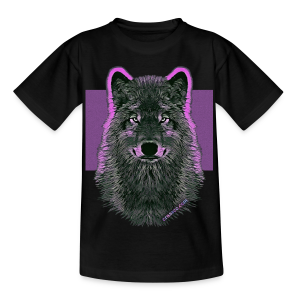 WOLF PINK (Teen) - Teenager T-Shirt