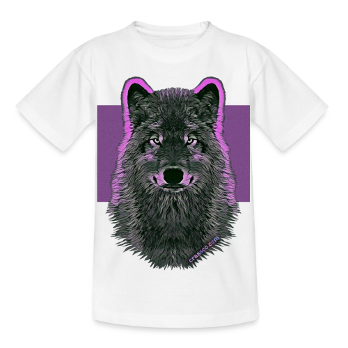 WOLF PINK (Kids) - Kinder T-Shirt