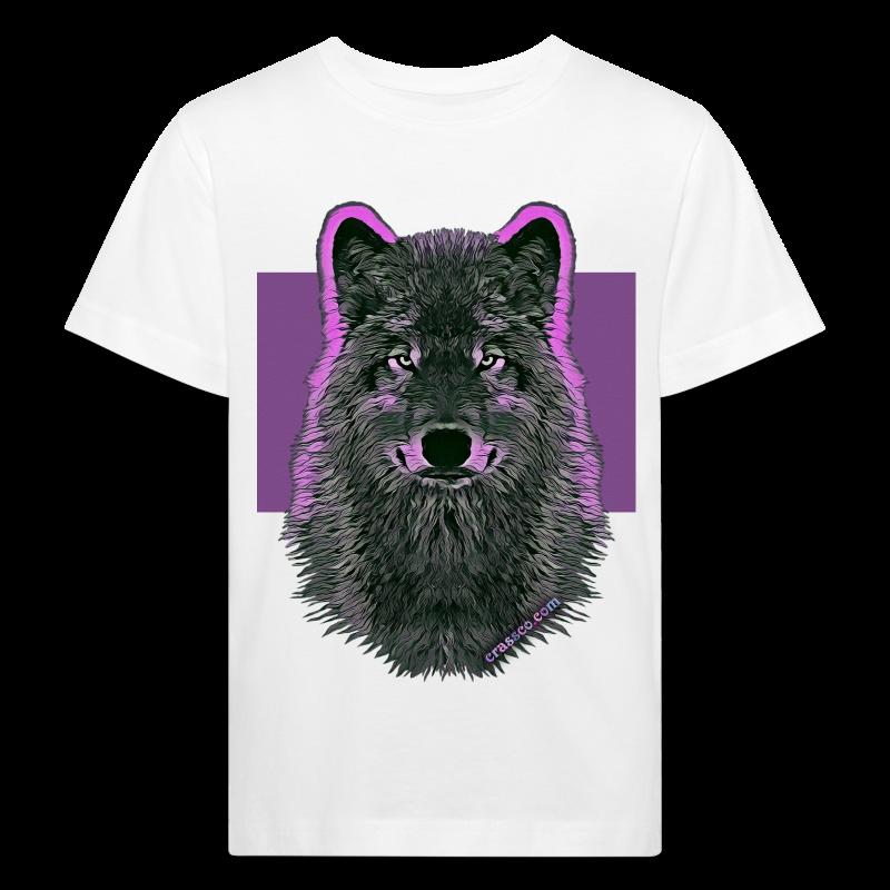 WOLF PINK (Kids BIO) - Kinder Bio-T-Shirt