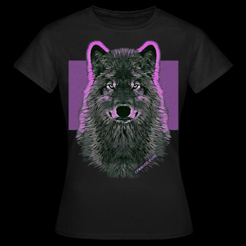 WOLF PINK - Frauen T-Shirt