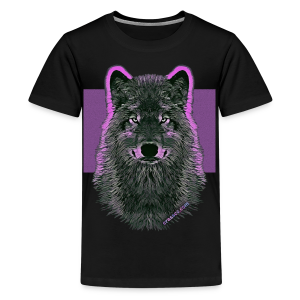 WOLF PINK (Teen) - Teenager Premium T-Shirt