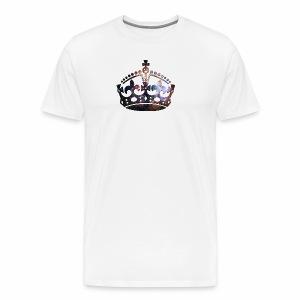 Krone Stardust - T-Shirt - Männer Premium T-Shirt