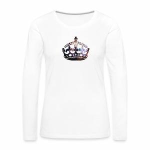 Krone Stardust - langarm Shirt - Frauen Premium Langarmshirt