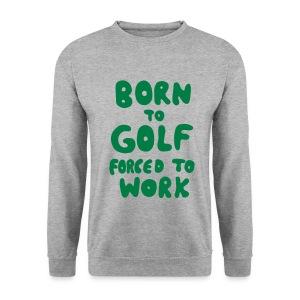 Golf Pullover born to golf - Männer Pullover