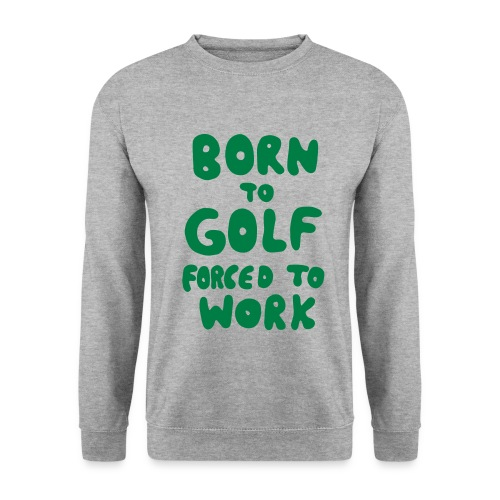Golf Pullover born to golf - Männer Pullover