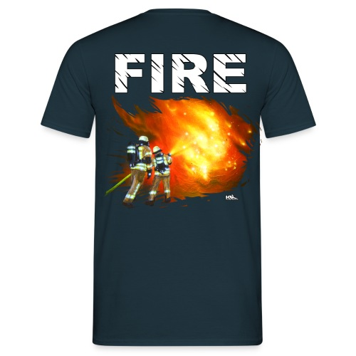 FIRE Shirt PBI Flames - Männer T-Shirt