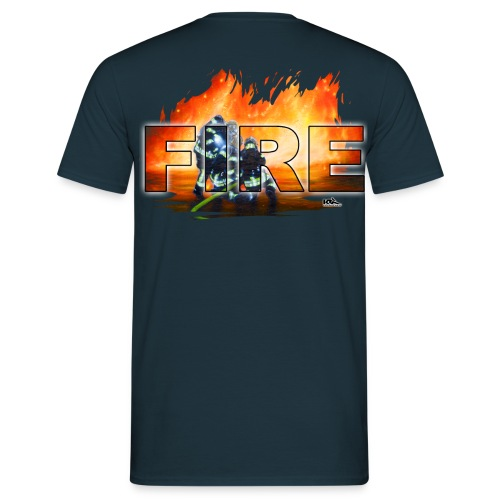 FIRE  AT Shirt - Männer T-Shirt