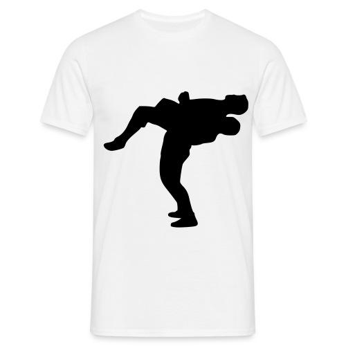 wrestling only looks gay t shirt - Men's T-Shirt