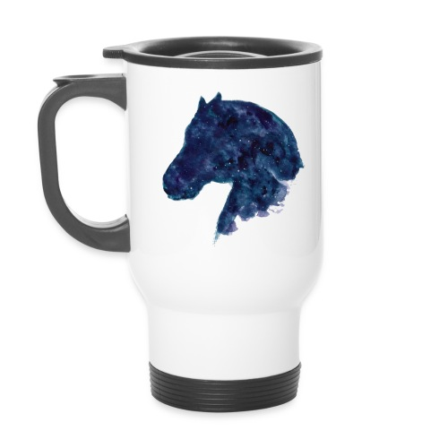 Galaxy horse - thermom mugg - Termosmugg