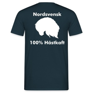 T-shirt 100 % Hästkraft - T-shirt herr