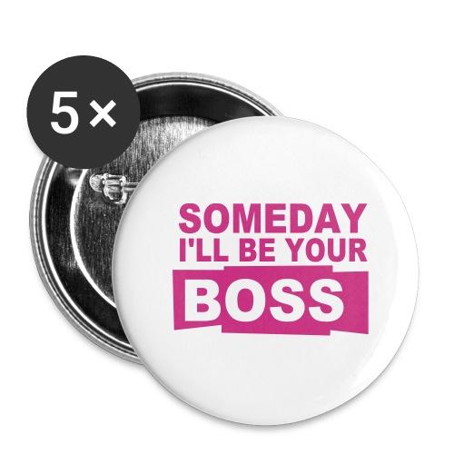Bossy - Stora knappar 56 mm (5-pack)