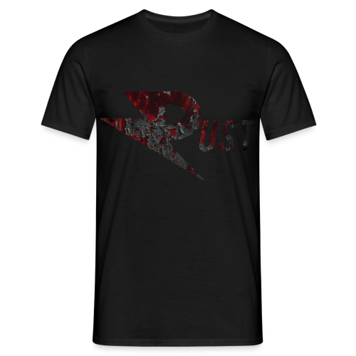 Rust T-shirt BLACK - Men's T-Shirt