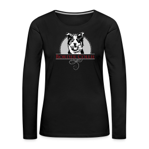 Border Collie - Frauen Premium Langarmshirt