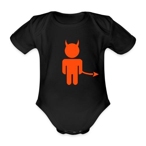 I'm the Devil - Organic Short-sleeved Baby Bodysuit
