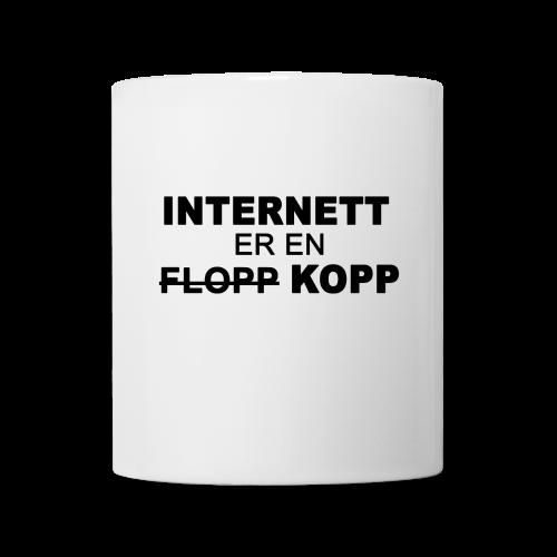Internett er en kopp - Kopp
