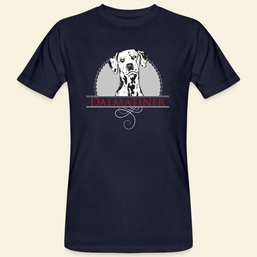 Dalmatiner - Männer Bio-T-Shirt