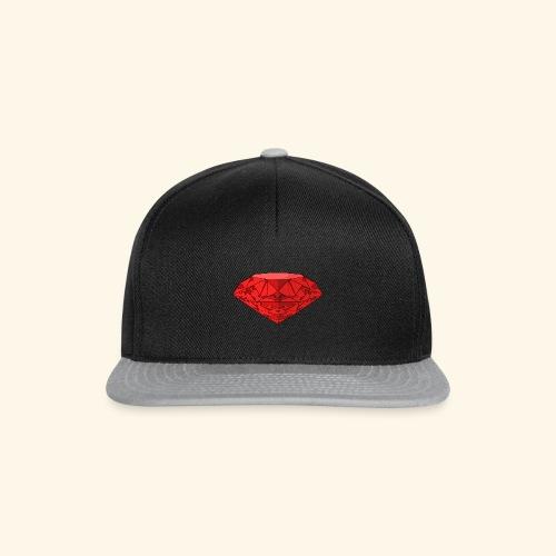 Snapback Red Diamond - Snapback Cap