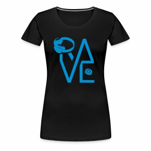 Rave hard - Frauen Premium T-Shirt