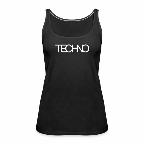 Techno - Tanktop - Frauen Premium Tank Top