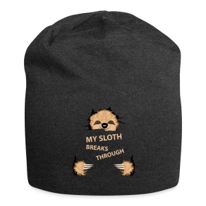 My Sloth Breaks Through - Jersey-Beanie