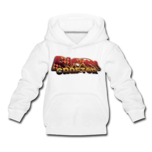 Pullover - RickyCrafter Aufschrift - Kinder Premium Hoodie