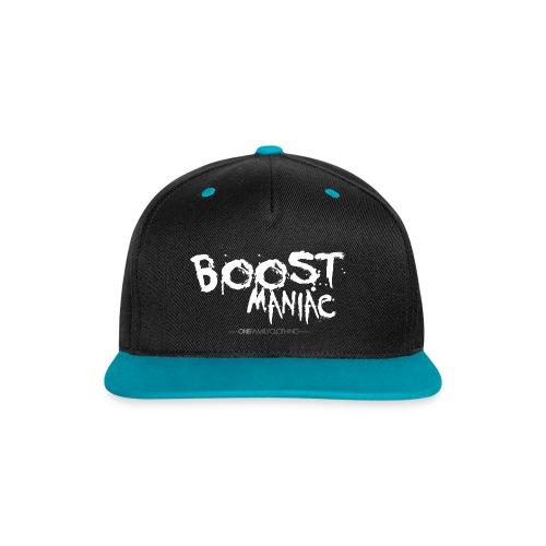 BOOST MANIAC - Kontrast Snapback Cap