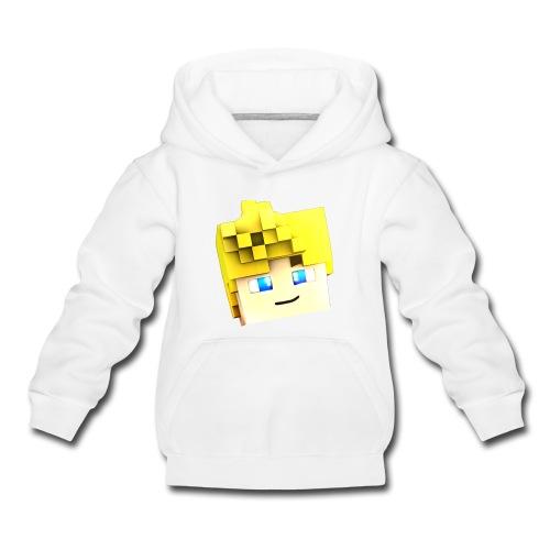 Pullover - RickyCrafter Kopf - Kinder Premium Hoodie
