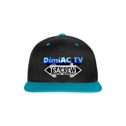 DimiAC TV CAP - Kontrast Snapback Cap