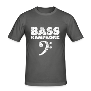 Basskampagne Slim Fit T-Shirt - Männer Slim Fit T-Shirt