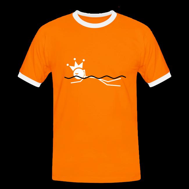 Zwemkoning contrastshirt