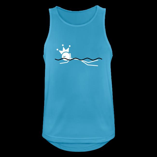 Zwemkoning tanktop ademend
