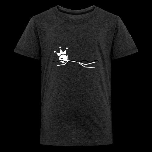 Zwemkoning(in) premium tienershirt - Teenager Premium T-shirt