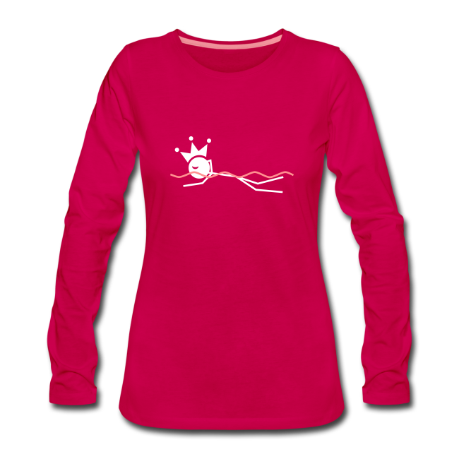 Zwemkoningin premium shirt