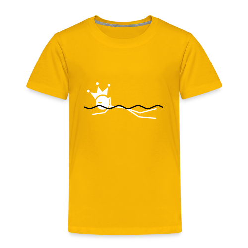 Zwemkoning(in) premium kids shirt - Kinderen Premium T-shirt