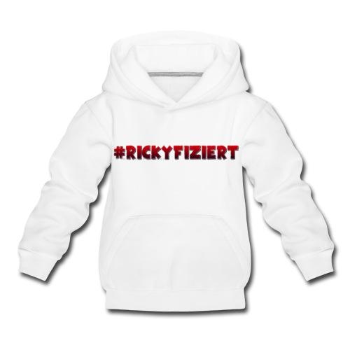 Pullover - #Rickyfiziert - Kinder Premium Hoodie