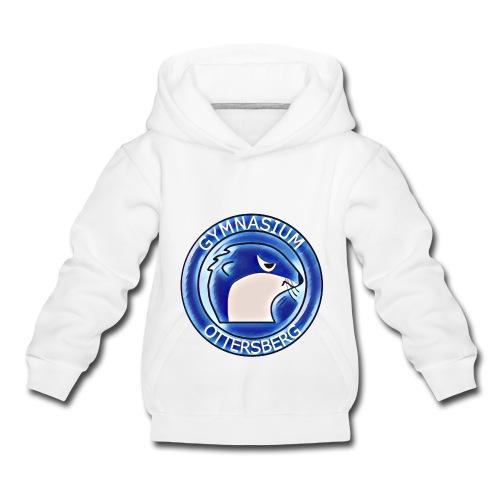 white hoody - Kinder Premium Hoodie